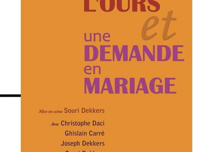 L'Ours Et Une Demande En Mariage à Paris 14ème