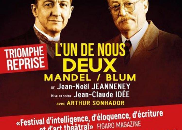 L'un de nous deux à Paris 14ème