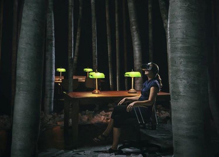 La Bibliothèque la nuit, visite virtuelle à Nantes