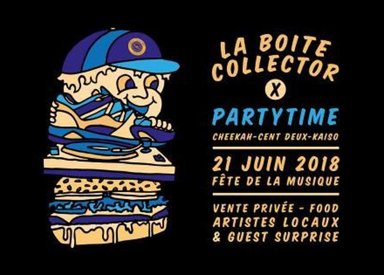 La boite collector (Fête de la Musique 2018) à Lille