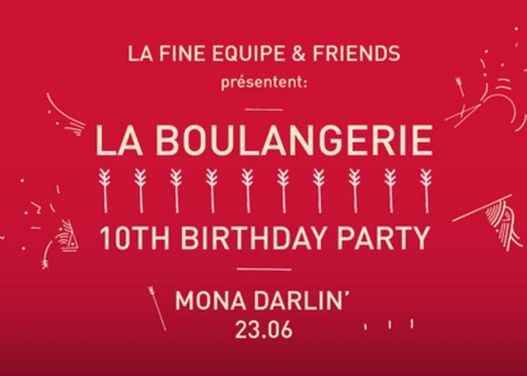 La Boulangerie 10th Birthday party à Paris 16ème