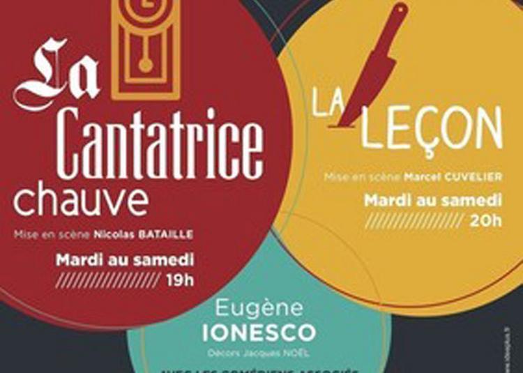 La Cantatrice Chauve Et La Lecon à Paris 5ème