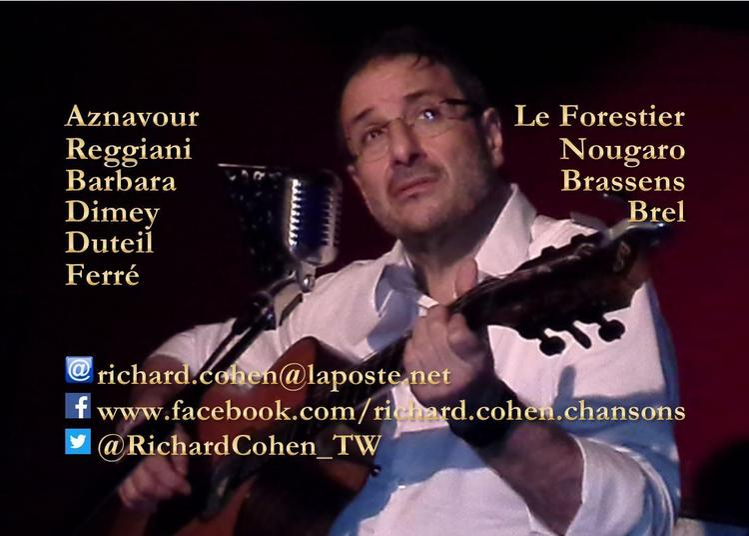 La chanson française en toute intimité... à Paris 18ème
