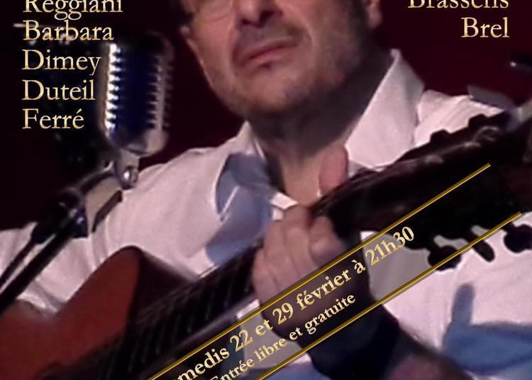 La chanson française en toute intimité... au Connétable ! à Paris 3ème