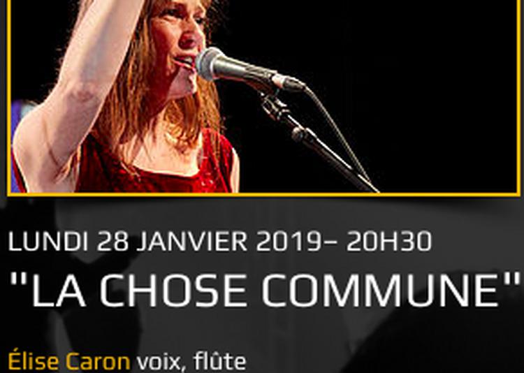 La Chose Commune à Saint Denis
