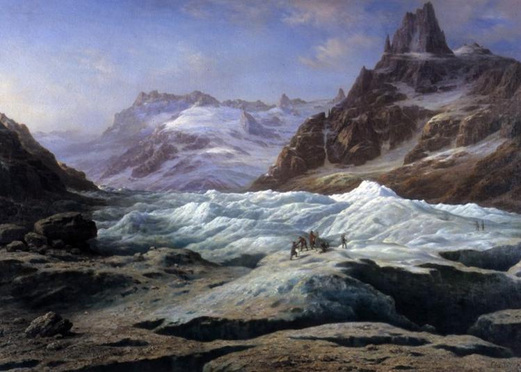 La Classe, L'oeuvre ! - Autour Du Tableau De Claude Hugard De La Tour, La Mer De Glace à Chambery