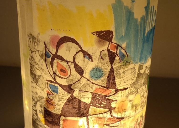 La Classe, L'oeuvre ! école Lucie Aubrac  : Soirée Lumineuse Au Musée à Fontaine de Vaucluse