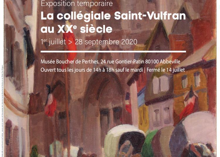 La collégiale Saint-Vulfran au XXe siècle à Abbeville