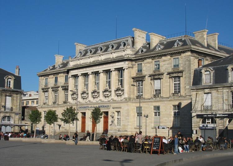 La Construction Des Universités Au Xixe Siècle à Bordeaux