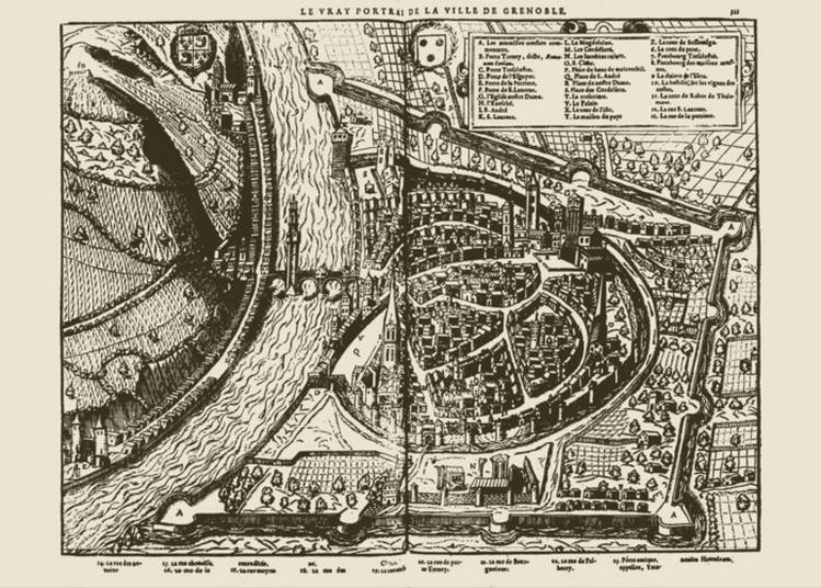 La Défense Et La Ville : Dix-sept Siècles De Fortifications Ont Façonné Les Quartiers De Grenoble.