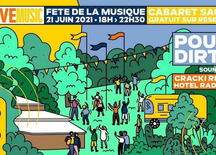 La Fête de la Musique avec Société Pernod Ricard Live Music à Paris 19ème