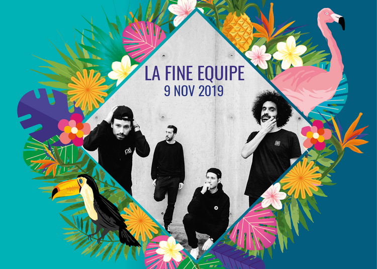 (ANNULE) La Fine Equipe et Dj SET / Festival Meltin'Art 2019 à Marseille