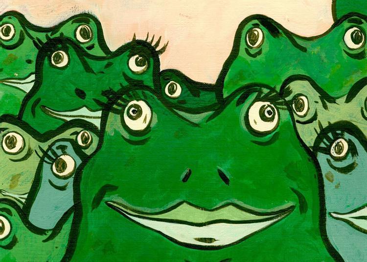 La Forêt aux mille grenouilles à Marignac Lasclares