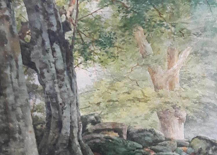 La forêt de Fontainebleau et ses villages : oeuvres sur papier du 19ème siècle à Bourron Marlotte