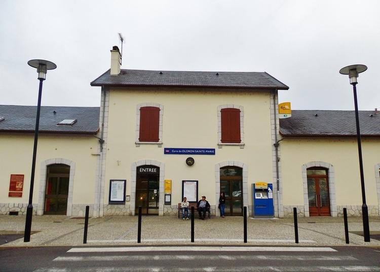La Gare : Lieu Symbolique De L'histoire D'oloron Et Du Béarn à Oloron sainte Marie