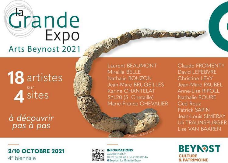 La grande expo arts beynost 2021 à Beynost