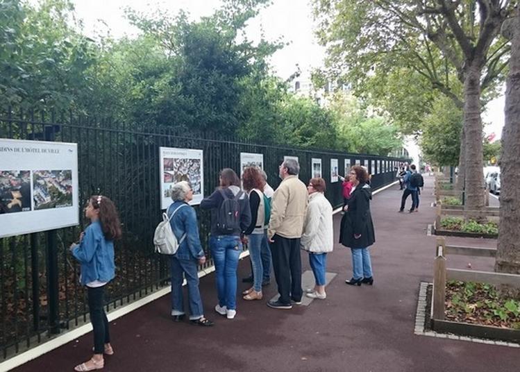 La Grande Guerre En Images - Exposition Sur Les Grilles Du Jardin De Robinson à Le Plessis Robinson