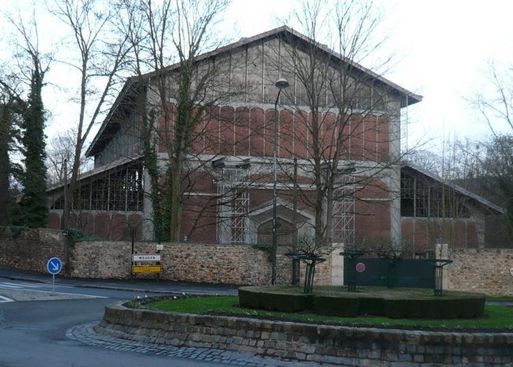 La Grande Perspective Du Château De Meudon (partie Sud) : Le Bassin Hexagonal De Chalais Et Le Hangar Y