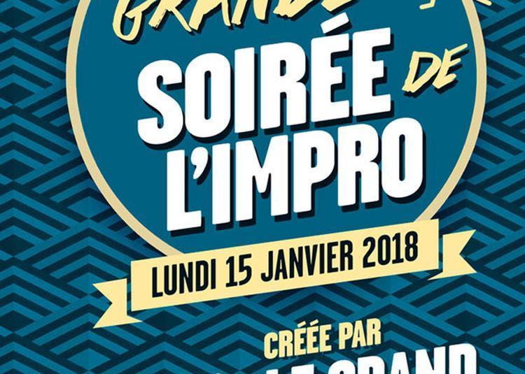 La Grande Soiree De L'Impro à Paris 14ème