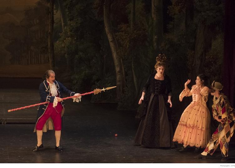 La Guerre des théâtres à Versailles