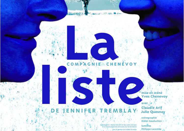 La Liste au théâtre Essaîon à Paris 4ème