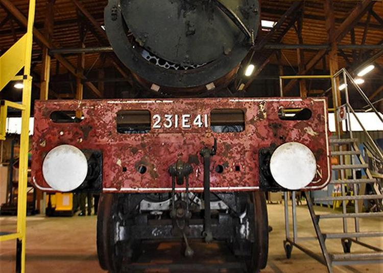 La Locomotive Pacific 231e41 Fête Ses 80 Ans De Mise Sur Les Rails à Saint Pierre des Corps