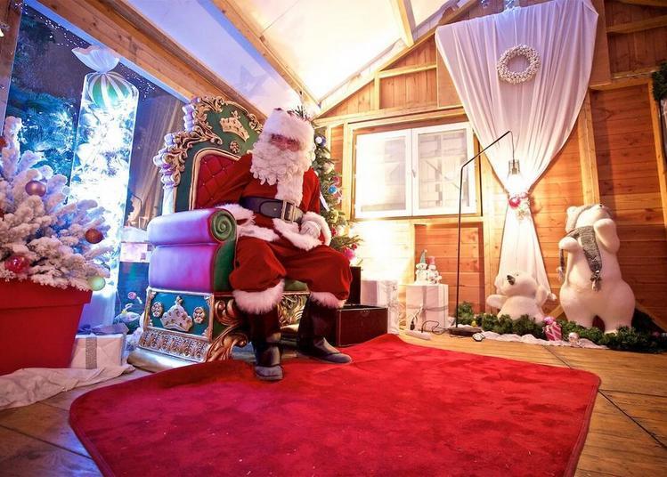 La Maison Du Père Noël à Amiens