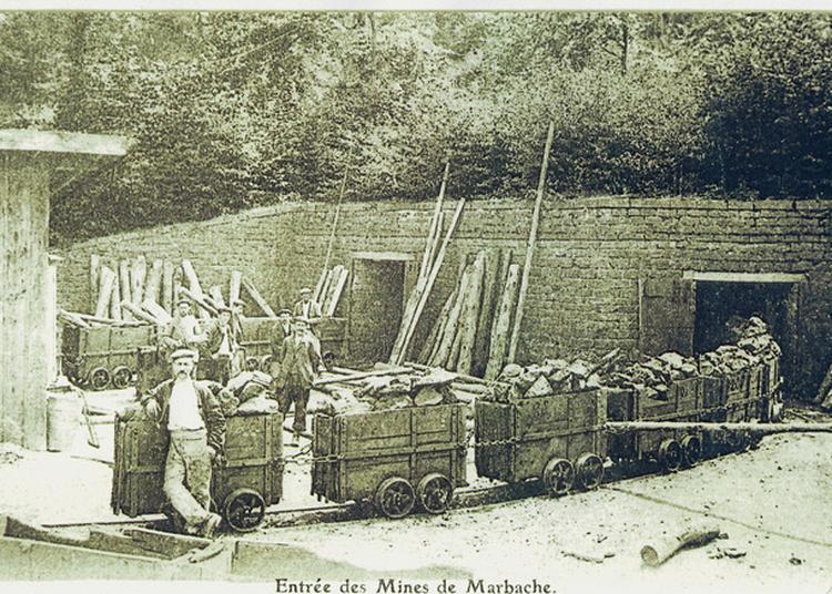 La Mine De Fer Marbichonne à Marbache