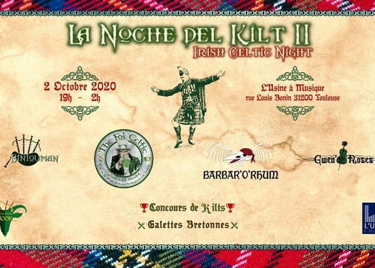 La Noche del Kilt II à Toulouse