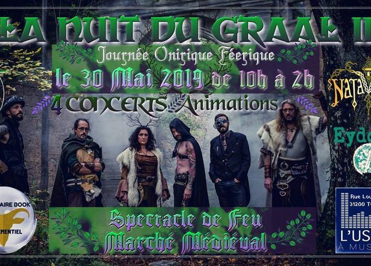 La Nuit du GRAAL II le retour à Toulouse