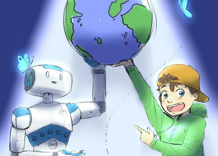 La Planète Bleue Et Le Robot Magique à Lagny sur Marne