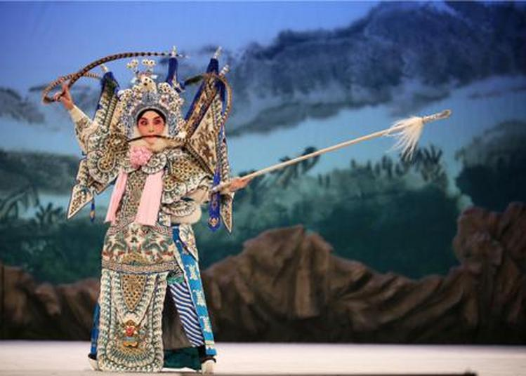 La Princesse Baihua à Malakoff
