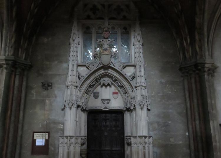 La Sacristie Du Chapitre à Bourges