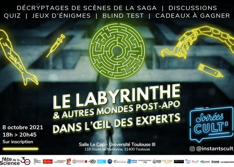La saga Labyrinthe et autres mondes post-apocalyptiques dans l'oeil des experts 2021