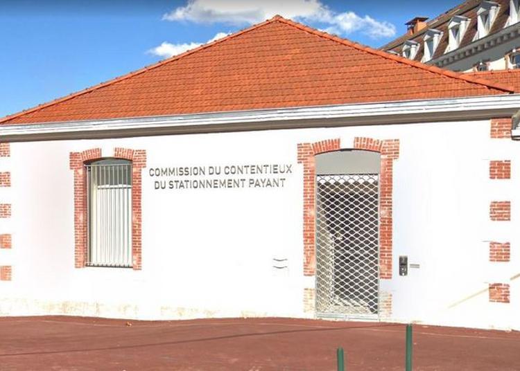 La Salle D'audience De La Commission Du Contentieux Du Stationnement Payant Ouvre Ses Portes à Landouge