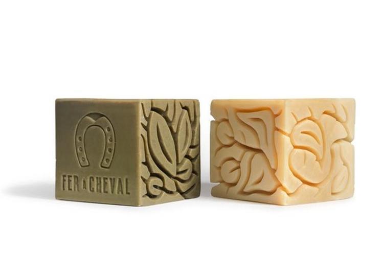 La Savonnerie Fer À Cheval Présente « In Cube Art », 161 Savons Sculptés En Édition Limitée Numérotée à Marseille
