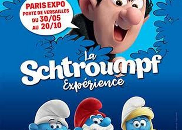 La Schtroumpf Experience à Paris 15ème