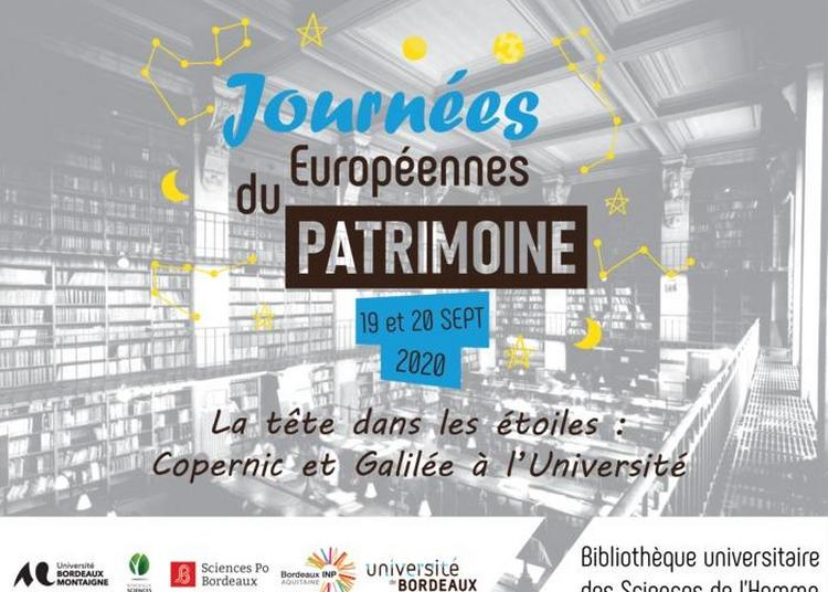 La Tête Dans Les Étoiles : Copernic Et Galilée À L'université à Bordeaux