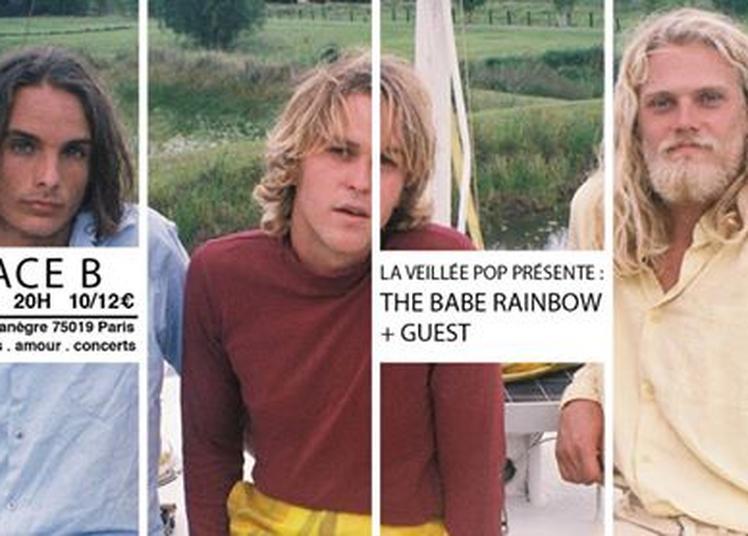 La Veillée Pop #3 : The Babe Rainbow + guest à Paris 19ème