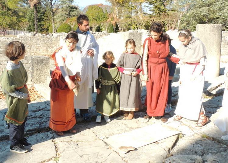La Vie Des Romains Racontée Aux Enfants à Vaison la Romaine