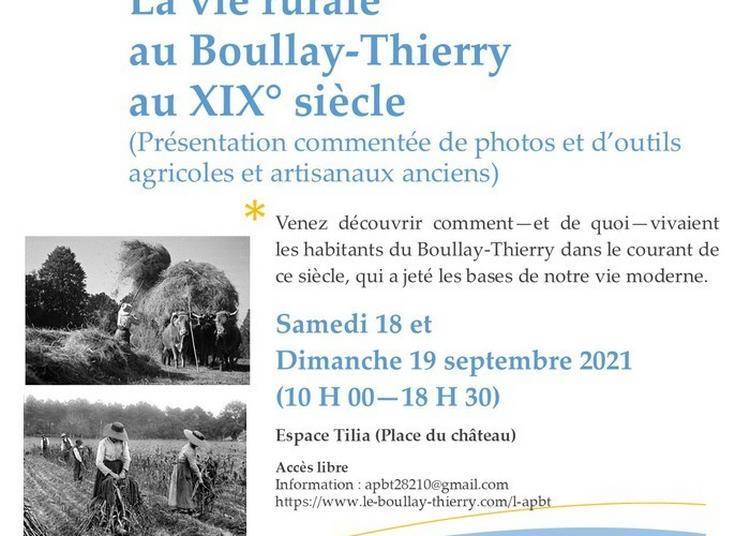 La Vie Rurale Au Boullay-thierry Au XIXe Siècle à Le Boullay Thierry