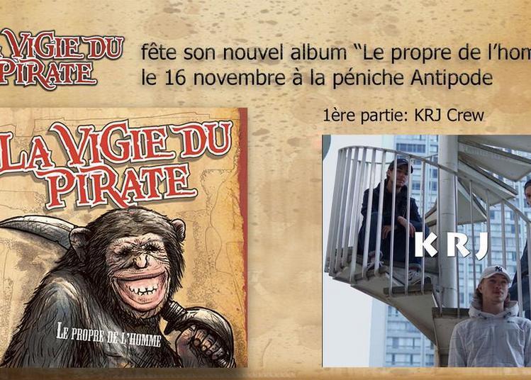 La Vigie du Pirate et KRJ à Paris 19ème