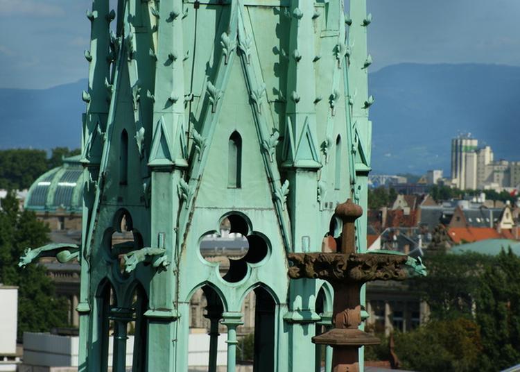 La Ville De Strasbourg Et La Collégiale Saint-pierre-le-jeune