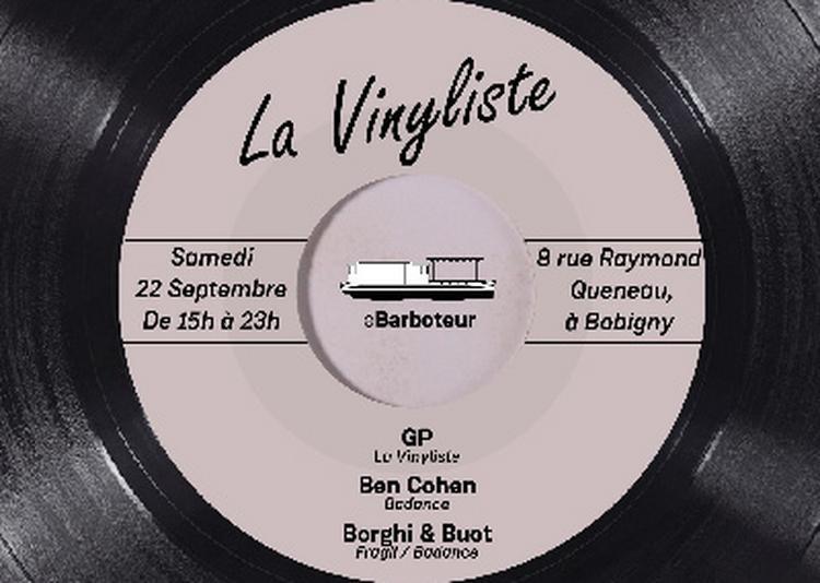 La Vinyliste à Bobigny