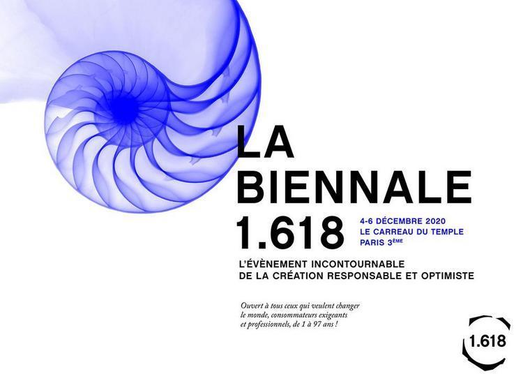 Biennale 1.618 à Paris 3ème