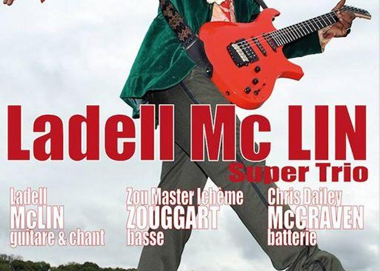 Ladell McLin Super Trio - Blues & Rock from Chicago à Marseille