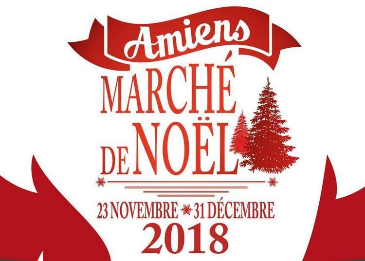 Lancement des illuminations de la ville à Amiens