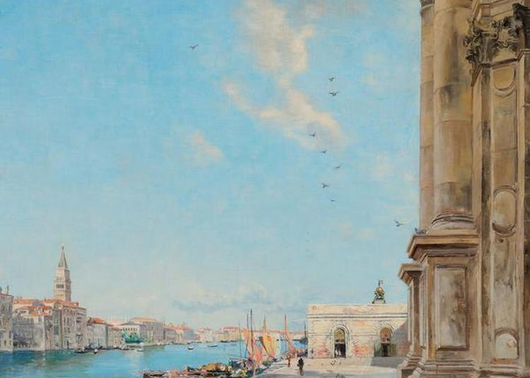 Lansyer, Canaletto Et Piranèse : Images D'italie à Loches