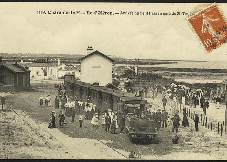 « Flash » Autour De L'histoire Du Train Sur Oléron à Saint Pierre d'Oleron