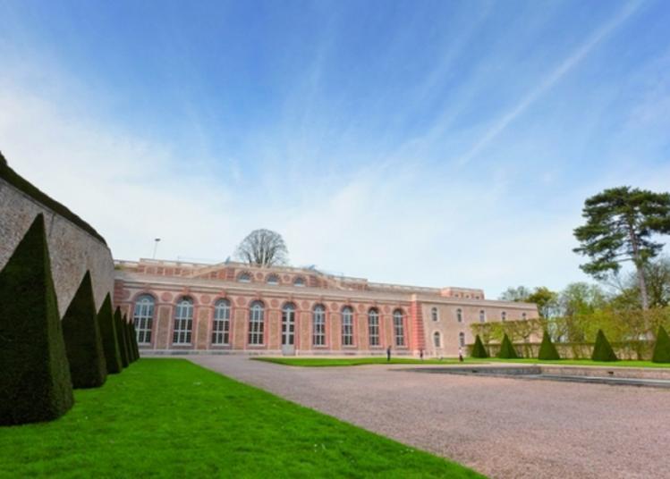 « La Grande Perspective Du Château De Meudon : De L'avenue Du Château à L'orangerie »